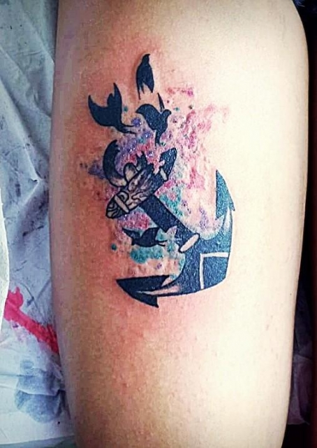 Tatuagens De Ancora Significado Masculina E Feminina