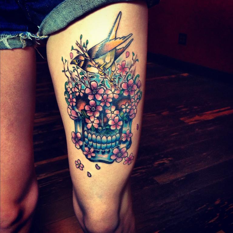 Tatuagens Femininas Na Perna Tatuagemorg