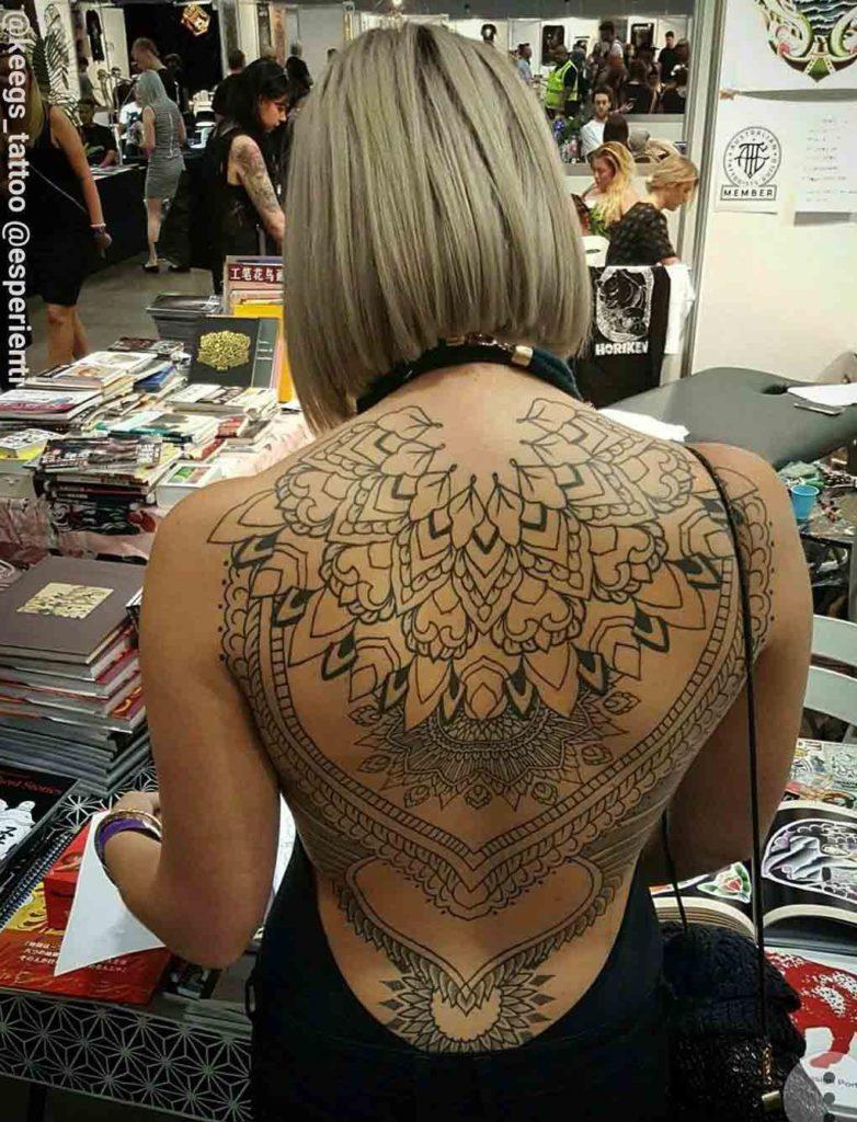 Tatuagens Femininas Nas Costas Tatuagemorg