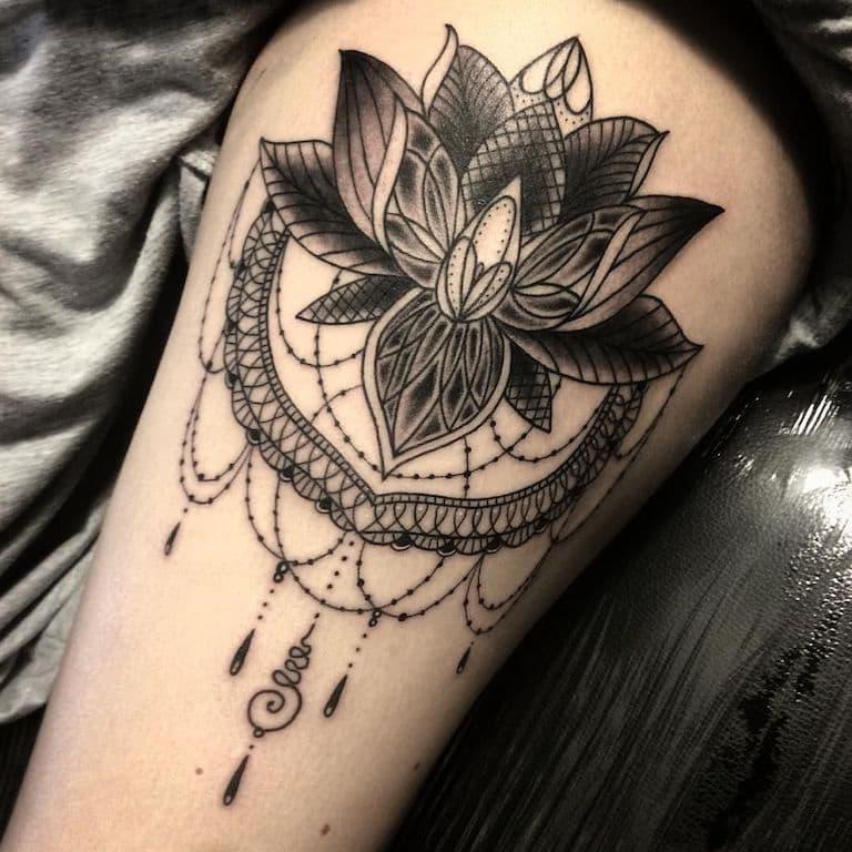 Tatuagens Flor De Lotus Tatuagemorg