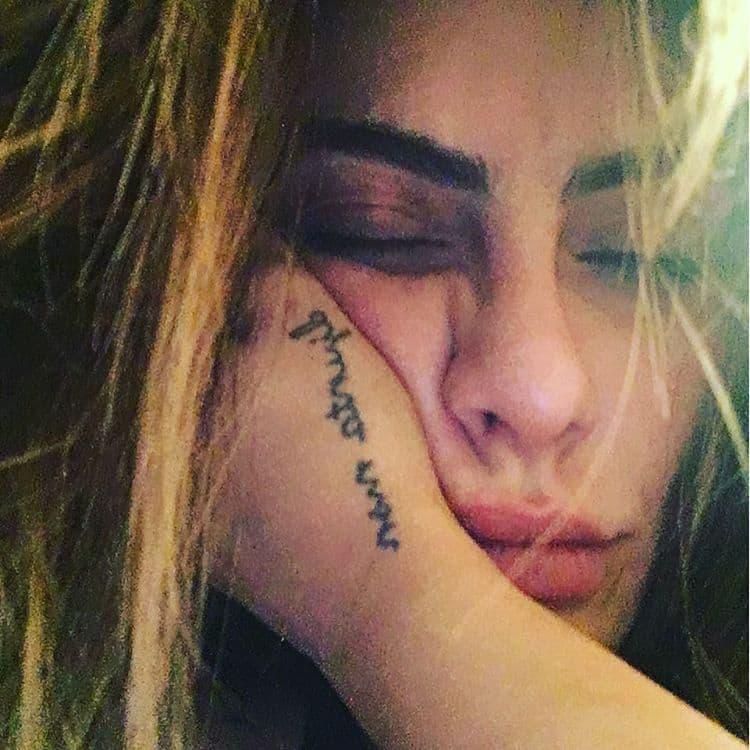 Tatuagens De Cléo Pires Tatuagemorg