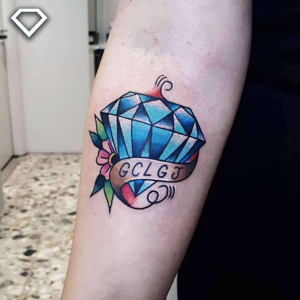 Tatuagem De Diamante Significado Ideias E Simbologias