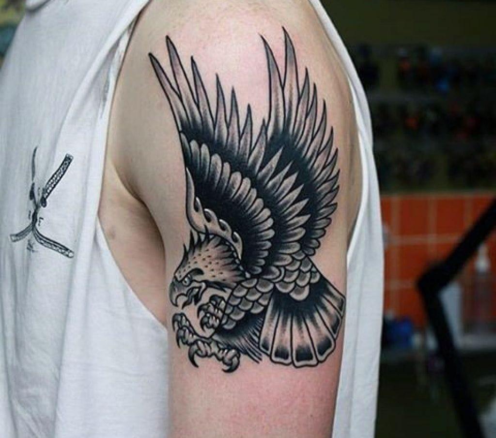 74bf058ec1 Tatuagens de Águia Significado  +99 Fotos e Ideias! » tatuagem.org