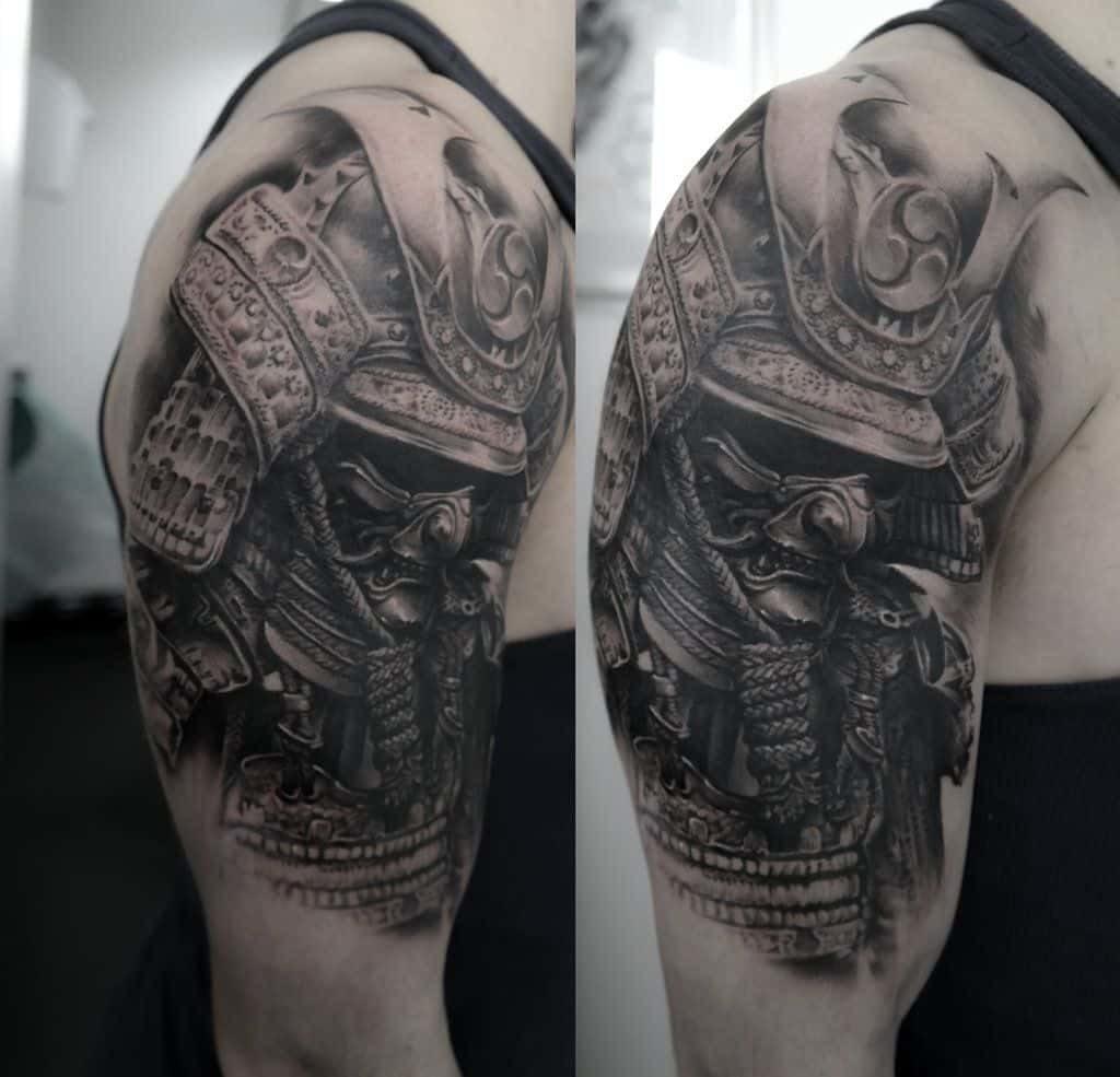Samurai Tattoo Significados Diversas Tatuagens De Samurai