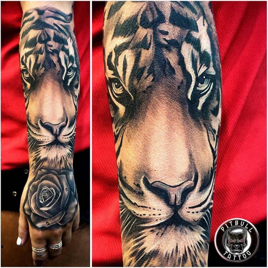 Tatuagem De Tigre Tatuagemorg