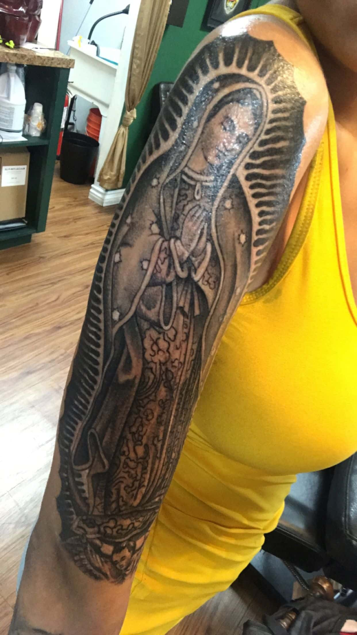 Tatuagem Nossa Senhora Aparecida 99 Fotos E Ideias