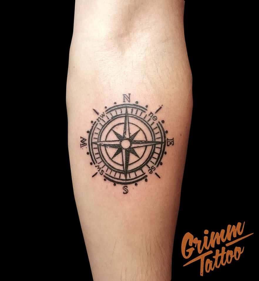 Como Escolher Tatuagem Homem tatuagem rosa dos ventos: significados, masculina e feminina