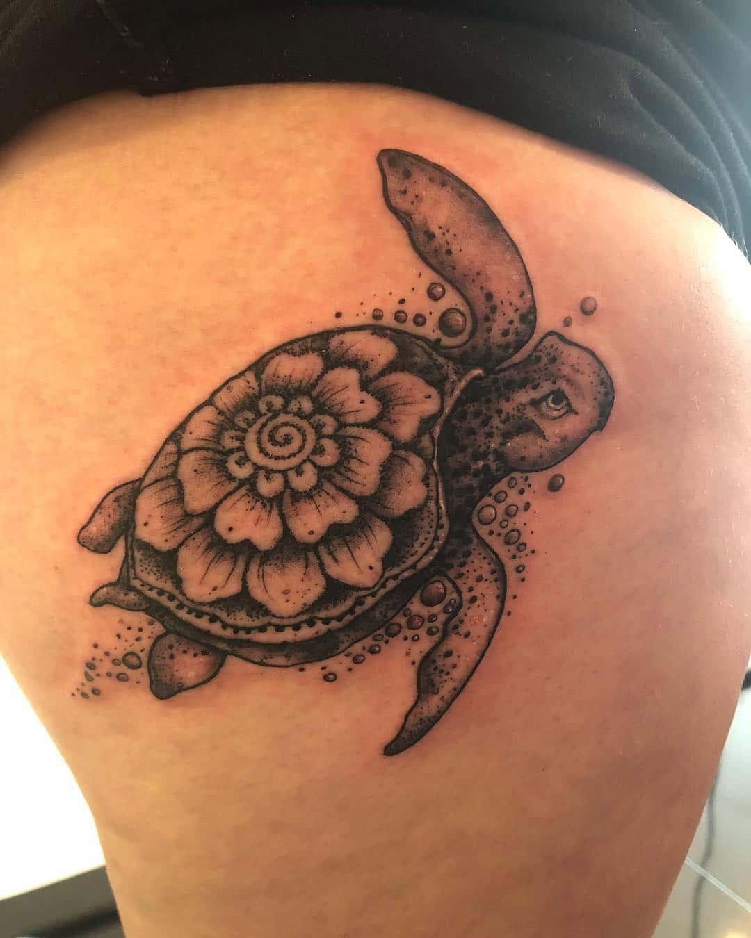 Tatuagem De Tartaruga Significados E 87 Fotos E Ideias